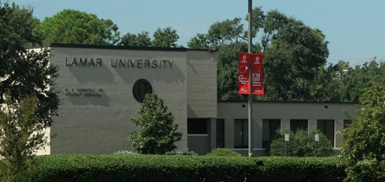 Wimberly Building at Lamar University near Houston