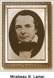 Mirabeau B. Lamar, Founder of Lamar University