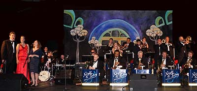 Night & Day Orchestra perform at Le Grand Bal 2013: Cardinal Express