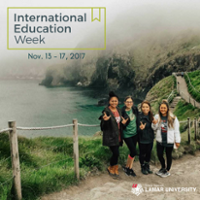 International Education Week, November 13-17 2017