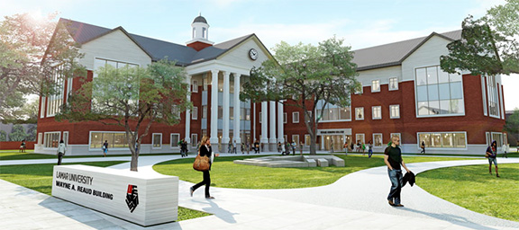 LU Reaud Honors College Building