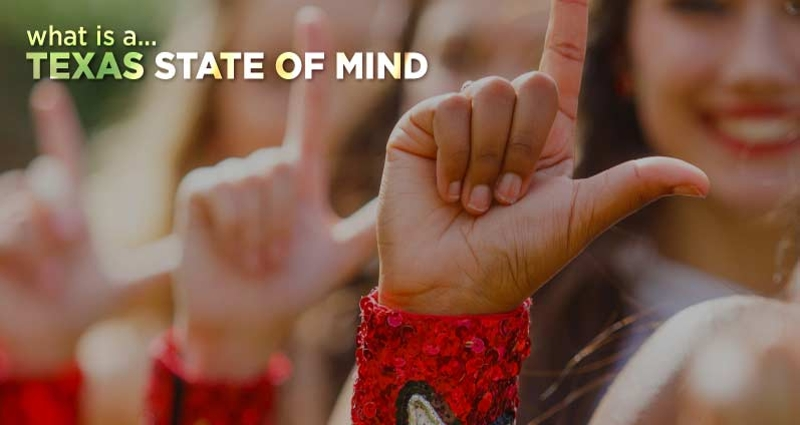 What is a Texas State of Mind? - Click to view video