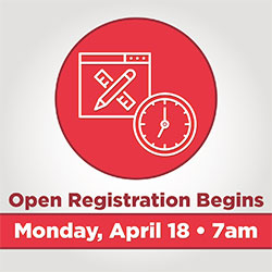 Registration Begins April 18