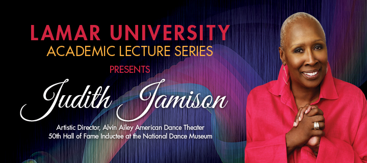Judith Jamison: Academic Lecture Series