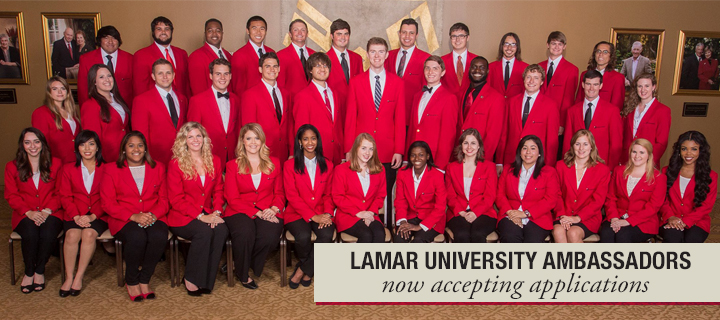 Lamar University Ambassador Program - Accepting Applications