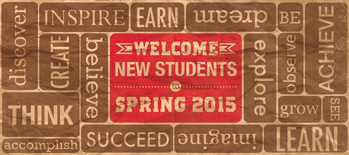 Spring 2015 Semester Starts