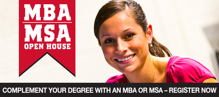 MBA|MSA Open House at Lamar University