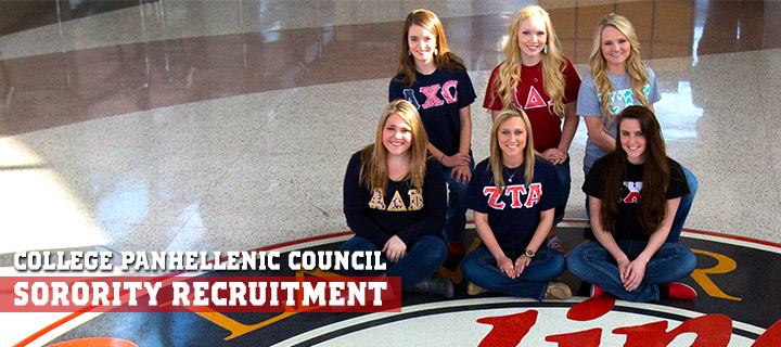Greek LIfe at Lamar University!  Now accepting applications for membership