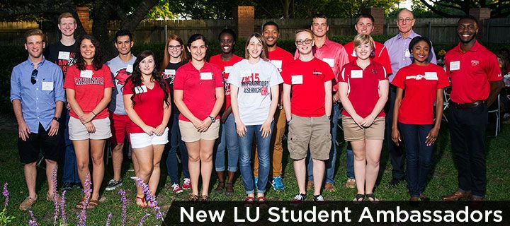 New Lamar University Student Ambassadors selected for 2015 - 2016