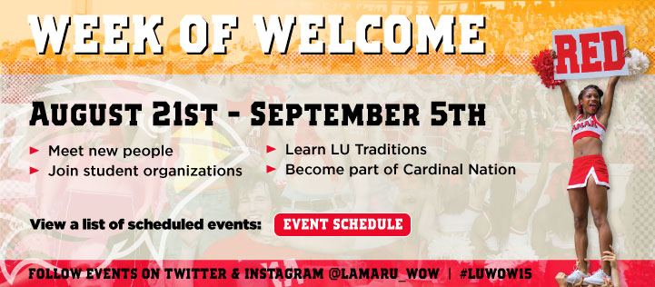 Week of Welcome at Lamar University