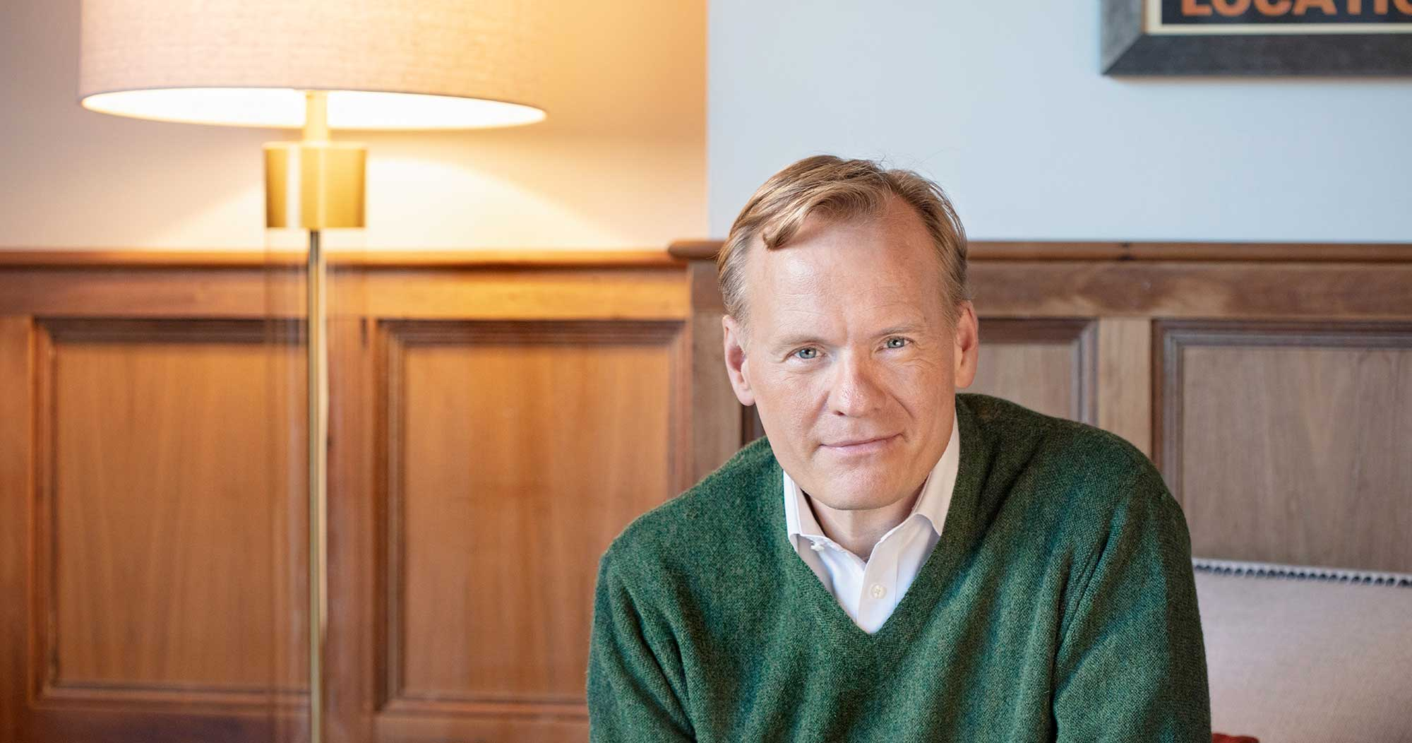 LU Moment: An Interview with John Dickerson