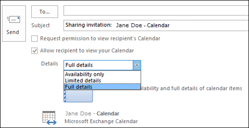 Outlook Calendar-Reviewer