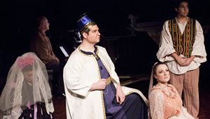 "LU students perform ""Der Betrogene Kadi"" by Christoph Willibald Gluck, spring 2013."