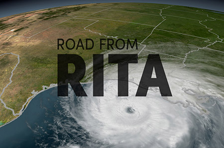 Hurricane Rita graphic
