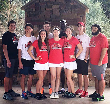 2016 LU Club Tennis team
