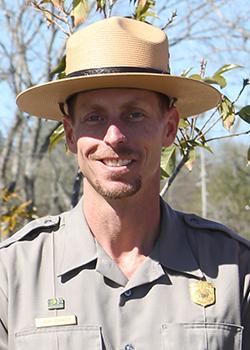 NPS Park Ranger Josh Stringer