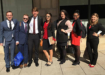 LU Moot Court Participants