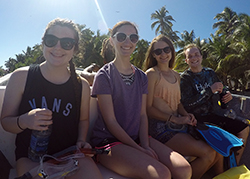 Students abroad in Belize