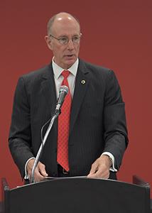 President Ken Evans