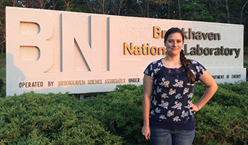 McNair scholar visits Brookhaven National Laboratory