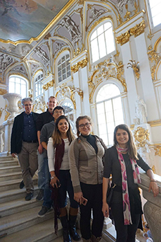 Students advance art appreciation in Russia