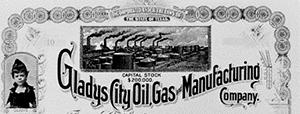 Gladys City stocks