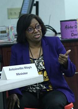 Domestic Violence speaker Mayes