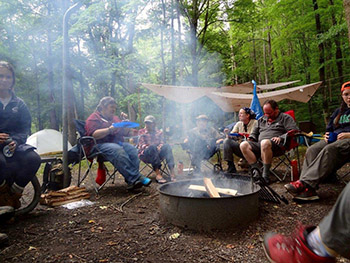 Smokey Mountain campfire
