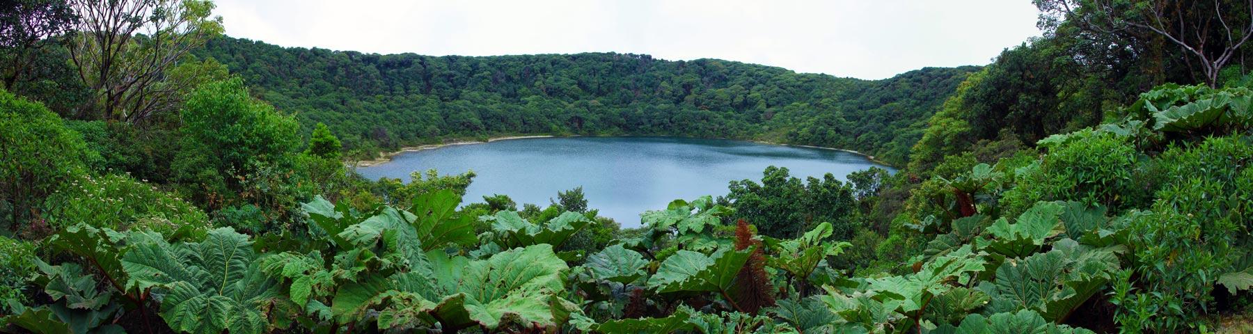 Volcano Botos Lake