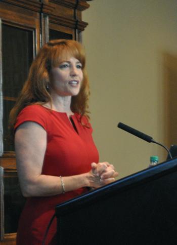 Social Work director Gummelt receives inaugural Inspirational Woman Award