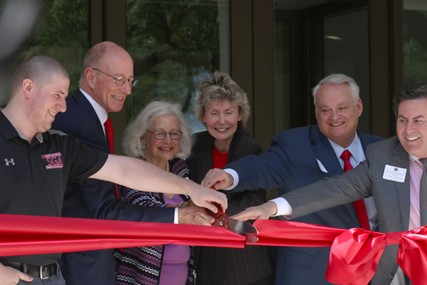 Crowds endorse LU's newly renovated  Setzer Student Center in Grand Opening
