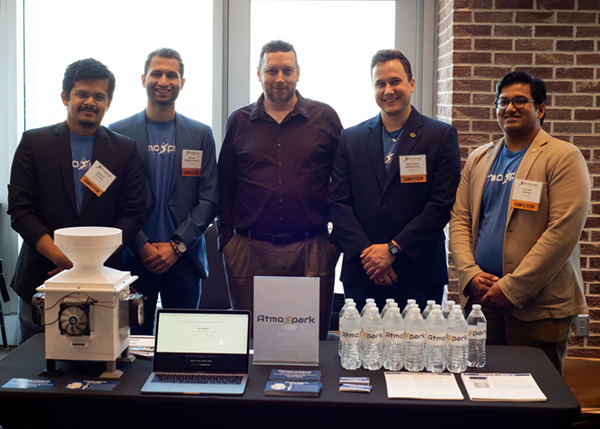 AtmoSpark Water Generation team tapped a finalist in TAMU New Ventures