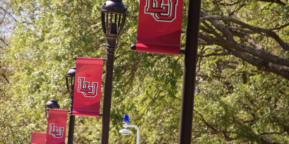 LU light pole banners