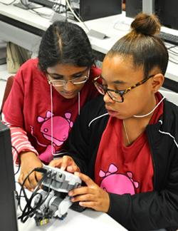 Gender gap in programming focus of all-girls coding camps