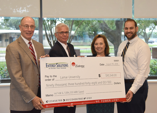 Entergy incentive check