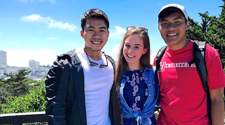 LU students partnered with San Francisco parks