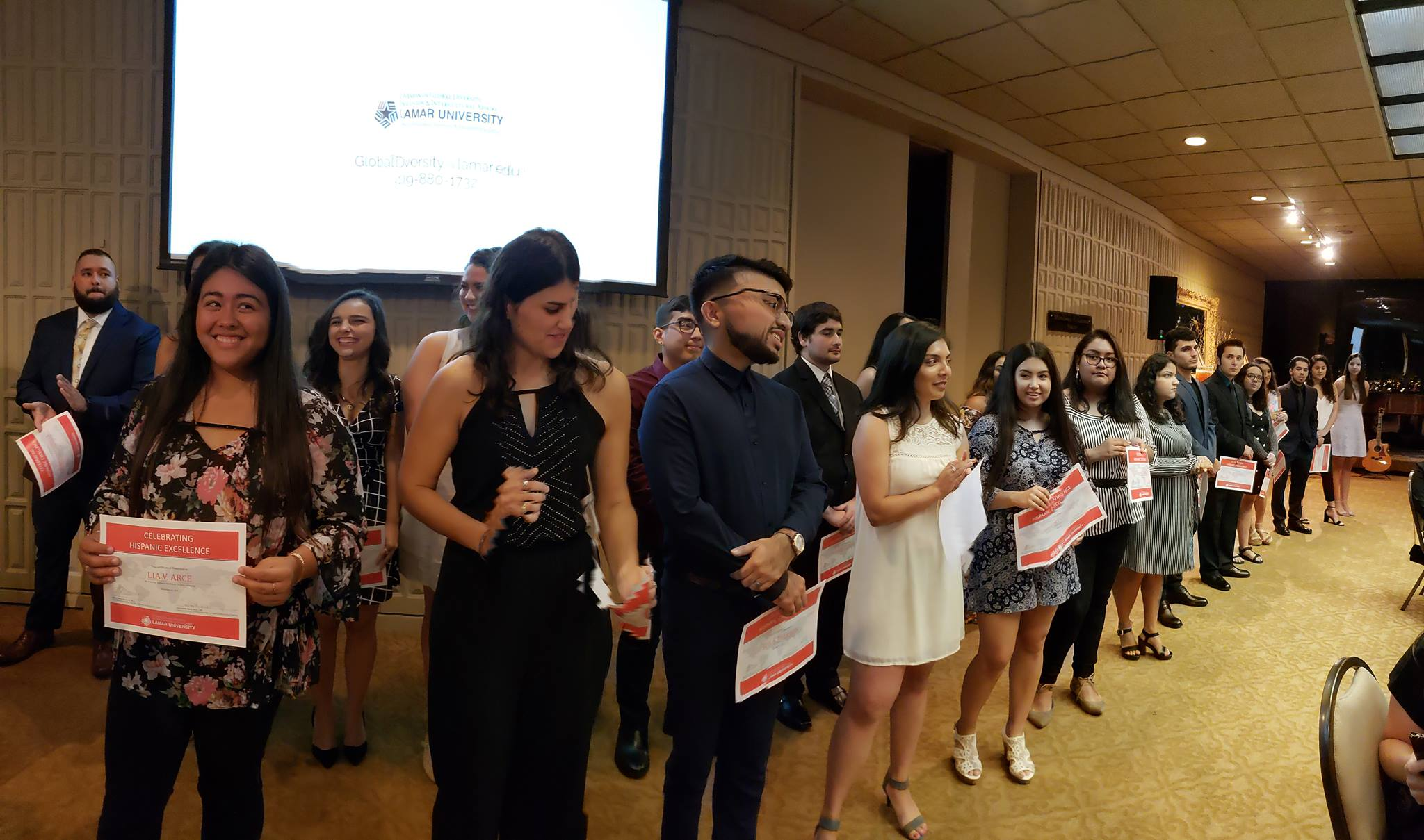 Lamar University Students Earn Hispanic Excellence Award