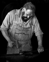 Blacksmith Instructor Rob Flurry