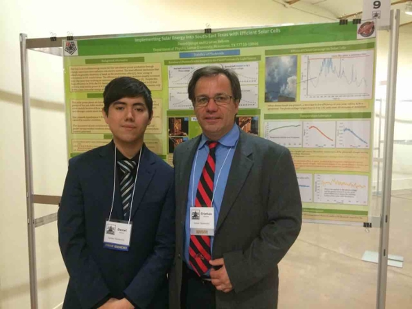 LU Student Showcases Poster at Undergraduate Research Day in Austin
