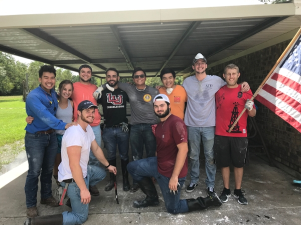 Imelda Impact: LU students join the community recovery effort