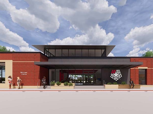 LU to break ground on new welcome center