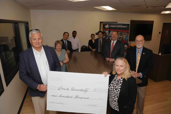 LNVA grants $100K to LU led project to mitigate flooding in Southeast Texas