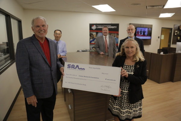 SRA grants $100K to LU led project to mitigate flooding in Southeast Texas
