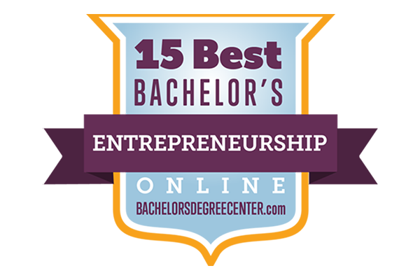 Online bachelor's degree in entrepreneurship nationally ranked