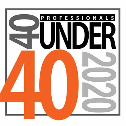 40 Under 40 Logo