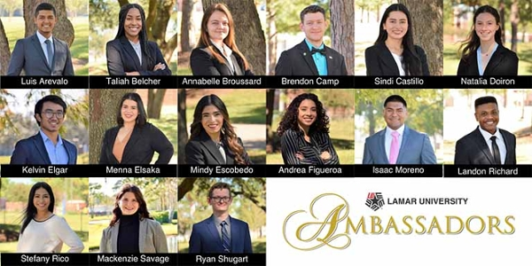 Lamar University announces 2020-2021 Ambassadors
