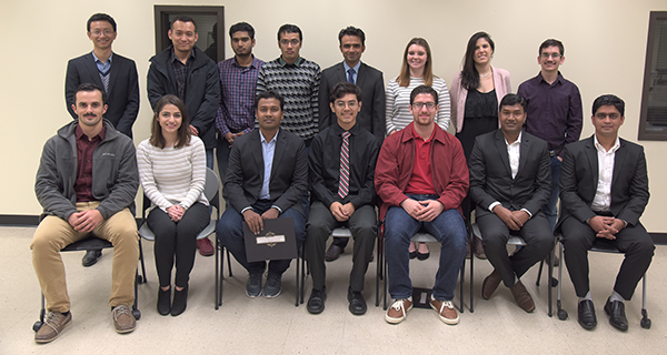 Office of Undergraduate Research presents student awards