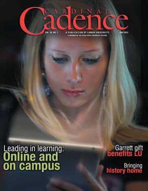 Cover of Cadence May 2012 Spring/Summer