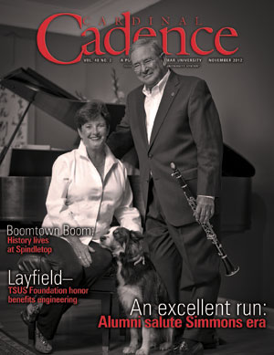 Cover of Cadence November 2012 Fall/Winter