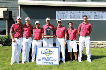 Men's golf 2012 championship team
